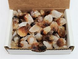 1/2 lb  Bulk Citrine Points Crystal Collection in Box