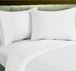 Union Hospitality 1 Queen Flat Sheet & 2 Standard Pillow Cas