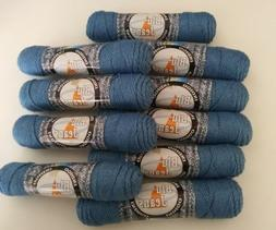 10 Skeins of Plymouth Yarn Blu Jeans in Indigo
