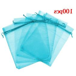 100 organza gift candy sheer