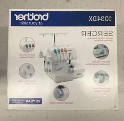 Brother Serger, 1034DX, 3/4 Thread Serger with Differential