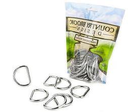 150 - Country Brook Design® 1 1/2 Inch Heavy Welded D-Rings