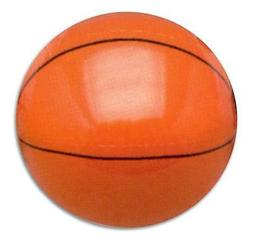 2 INFLATABLE BASKETBALL 12 in sports ball inflate blowup toy