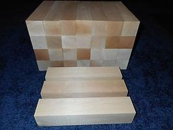 "2"" x 2"" x 10"" Basswood Carving Wood Blocks Craft Lumber *KIL"
