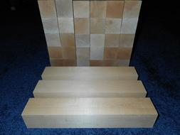 "2"" x 2"" x 12"" Basswood Carving Wood Blocks Craft Lumber *KIL"