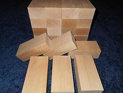 "2"" x 3"" x 10"" Basswood Carving Wood Blocks Craft Lumber *KIL"
