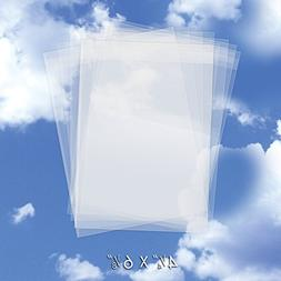 200 Crystal Clear Plastic Cello Bags  - Bulk Resealable Cell