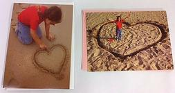 2X 1998 AVANTI VALENTINES GREETING CARDS - LITTLE GIRL ON BE