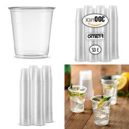 3 Oz Clear Plastic Cups In Bulk For Any Occasion BPA Free Di
