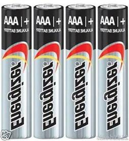 4 Energizer Max E92 AAA Alkaline Battery Bulk Made in USA Ex