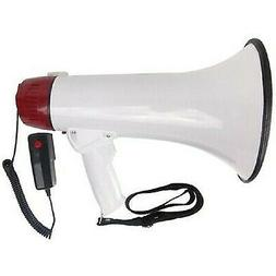 4 Packs of 30w abs megaphone w/ music switch/ safety siren r