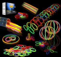 456 Pcs LED Light Up Toys Glow In The Dark Party Supplies Ki