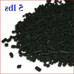 5 LBS Activated Carbon in Bulk For Aquarium Fish Tank Koi Po