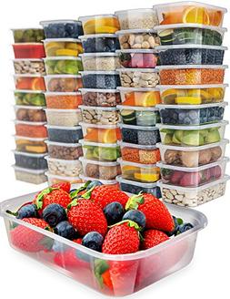 Food Storage Containers With Lids - Plastic Containers With