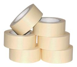 6 ROLLS - 2 Inch Masking Tape for General Purpose / Painting