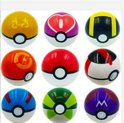 9PCS Pokemon Pokeball Pop-up Master Great Ultra GS poke BALL