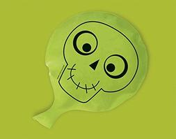 Amscan Halloween Skeleton Trick Or Treat Whoopee Rubber Cush