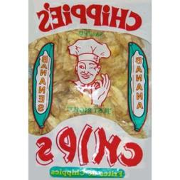 """CHiPPiE'S Banana Chips -3 Pack Not Sweetened but Salted """"Jus"""