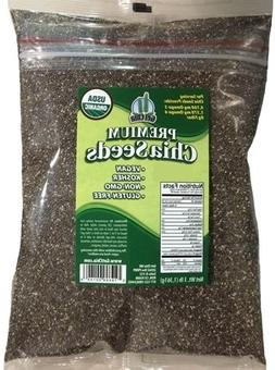 Certified Organic 6 POUNDS Get Chia Brand Chia Seeds = TWO x
