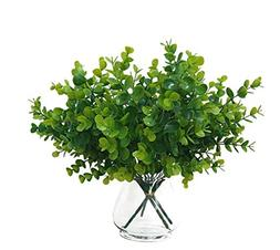 Faux Greenery Stems  Mini Artificial Plants for Decoration.