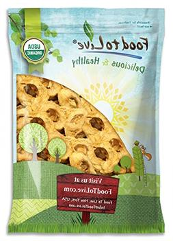Food To Live Certified Organic Dried Apple Rings