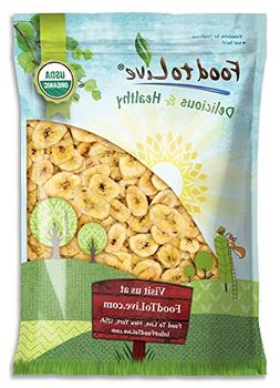Food to Live Certified Organic Banana Chips