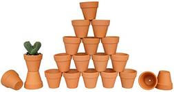 "My Urban Crafts 2"" Mini Terracotta Clay Pots - Great for Suc"