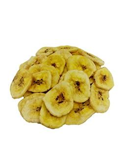 NUTS U.S. - Unsweetened Banana Chips, No Sulphure Added & No