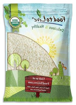 Organic Jasmine Rice by Food to Live  — 5 Pounds