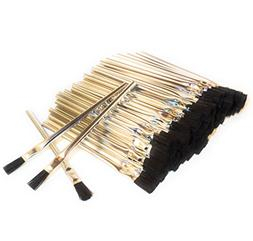 "Acid Brushes , 3/8"", Horsehair, 144 pieces, Made in USA"
