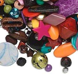 2 pounds Acrylic Beads for Jewelry Making, Supply for DIY Be
