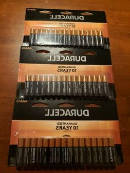 48  DURACELL COPPERTOP 48 AAA BATTERIES NEW IN PACKAGE F/S