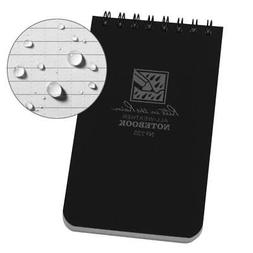 """Rite in the Rain All-Weather Top-Spiral Notebook, 3"""" x 5"""", B"""