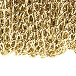Dcatcher Aluminum Curb Chain Link in Bulk for Necklace Jewel