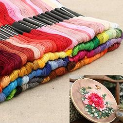 Embroidery Thread & Floss 100pc - 8m Cotton Embroidery Yarn