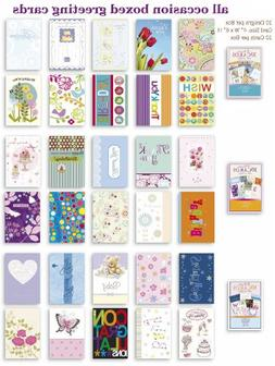 Assorted All Occasion Cards Box Set 30 Pack, Thinking of You