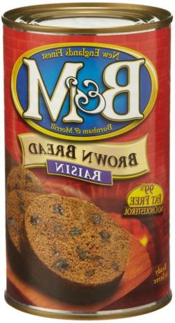 B&M Brown Bread Raisins Bread , 16 Ounce -- 12 Case