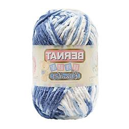 Bernat Baby Blanket Yarn -  Super Bulky Gauge - 10.5 oz - Bl