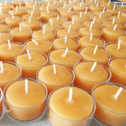 🐝 Beeswax Tealights BULK 100% Pure Candles / Handcrafted