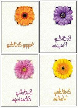Birthday Cards in Bulk with NIV Scripture – Flowers Greeti