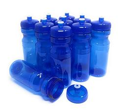 CSBD Blank 24 oz Sports and Fitness Water Bottle, BPA Free,