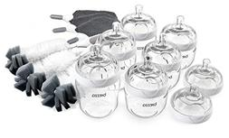 Baby Brezza 14 piece Bottle Premium Starter Gift Set, Multi