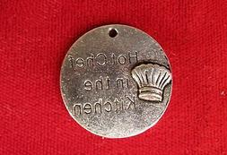 """BULK! 15pc """"Hot chef in the kitchen"""" charms in antique silve"""