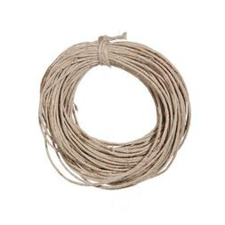 Bulk Buy: Darice DIY Crafts Hemp Cord 20lb weight Natural 15