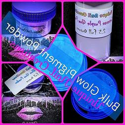 BULK~Intense GLOW IN THE DARK Powder Pigment! You Choose~Acr