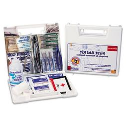 Bulk First Aid Kit for 25 People, 106 Pieces, OSHA Compliant