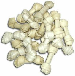 Cadet Bulk Mini Bone Rawhide 2.5-3in, 500ct
