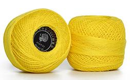 LE PAON 50g Bulk pearl cotton Crochet thread in balls Friend