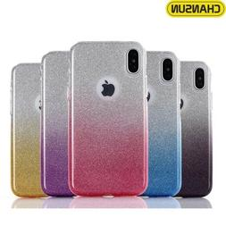 Bulk Wholesale Mixed 3in1 Glitter Sparkle Gradient Case  iPh