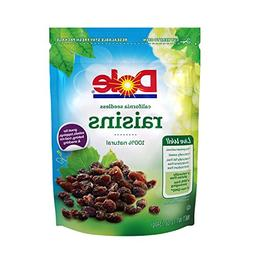 NEW Dole California Seedless Raisins 12 Ounce
